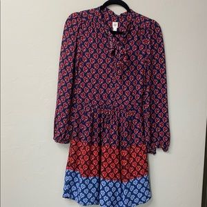GAP tienk floral print dress size 0.